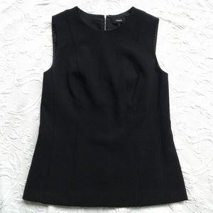 Theory Hadrienne Pioneer Shirt Sleeveless Black 6